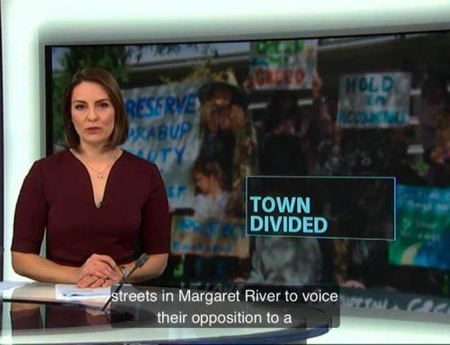 ABC News – Preserve Gnarabup Rally