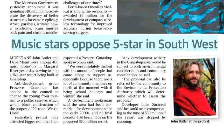 music starts oppose 5 star-sunday times
