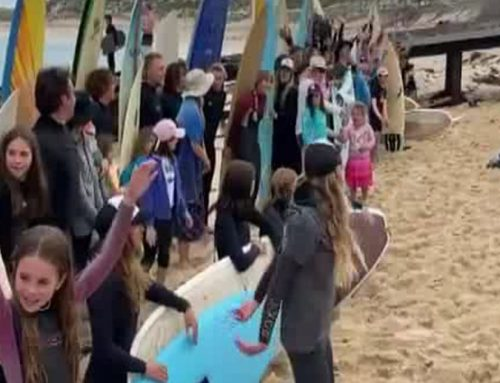 GWN7 News – Preserve Gnarabup Paddle Out Coverage