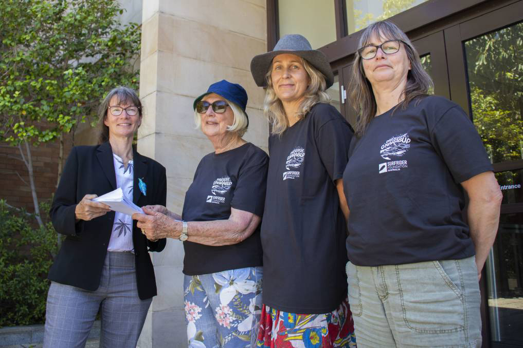 Gnarabup petition tabled in WA Parliament